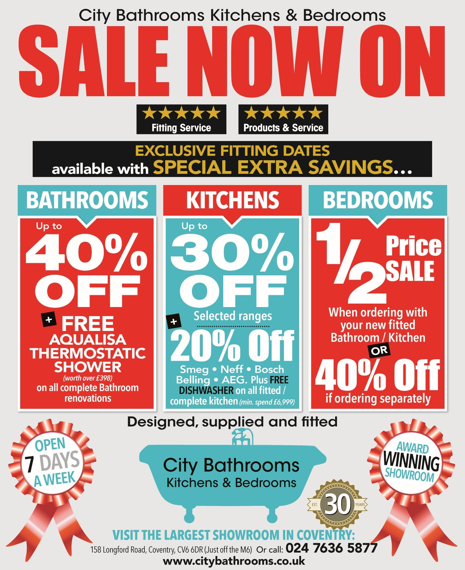 Coventry kitchens and bathrooms - Welcome To City Bathrooms